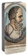 Hipparchus, Greek Astronomer Portable Battery Charger by Photo Researchers, Inc.