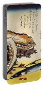 Hiroshige: Color Print Portable Battery Charger