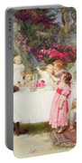 His First Birthday Portable Battery Charger by Frederick Morgan