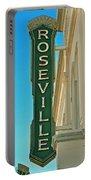 Historic Roseville California Portable Battery Charger