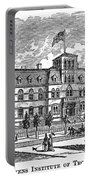 Hoboken: College, 1878 Portable Battery Charger