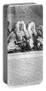 Hogarth: Judges, 1758 Portable Battery Charger