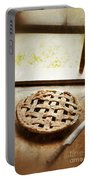Home Made Pie Cooling By Open Window Portable Battery Charger