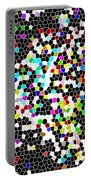 Honeycomb Abstract  Portable Battery Charger