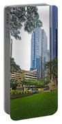 Honolulu Office Buildings Portable Battery Charger