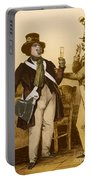Honore De Balzac, French Author Portable Battery Charger