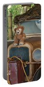 Hood Ornament Disney Bear Portable Battery Charger