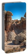 Hoodoos At Gooseberry Desert Wyoming Portable Battery Charger