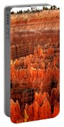 Hoodoos  At Sunrise Portable Battery Charger