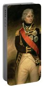 Horatio Viscount Nelson Portable Battery Charger