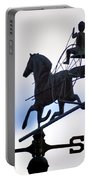 Horse And Buggy Weather Vane Portable Battery Charger