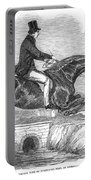 Horse-jumping, 1852 Portable Battery Charger