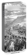 Horse Racing, 1850 Portable Battery Charger