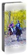 Horseback Riding  Portable Battery Charger