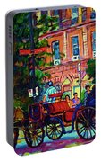 Horsedrawn Carriage Portable Battery Charger