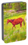 Horses Paradise Portable Battery Charger