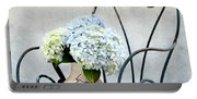 Hortensia Flowers Portable Battery Charger