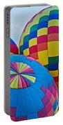 Hot Air Balloons Panorama Portable Battery Charger