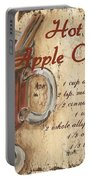 Hot Apple Cider Portable Battery Charger by Debbie DeWitt