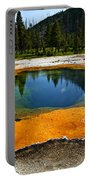 Hot Springs Yellowstone Portable Battery Charger