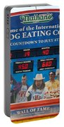 Hotdog Eating Contest Time Portable Battery Charger