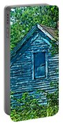 House In The Woods Art Portable Battery Charger