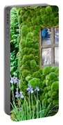 House With Moss Walls Portable Battery Charger