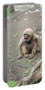 Howling Baby Monkey Portable Battery Charger