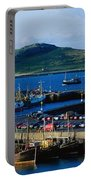 Howth Harbour & Irelands Eye, Co Portable Battery Charger