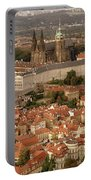 Hradcany In Prague Portable Battery Charger