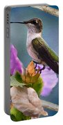 Hummingbird Picture Pretty Portable Battery Charger