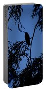 Hummingbird Silhouette Portable Battery Charger