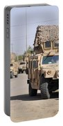 Humvees Conduct Security Portable Battery Charger