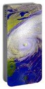 Hurricane Floyd Portable Battery Charger