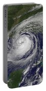 Hurricane Isaac In The Gulf Of Mexico Portable Battery Charger