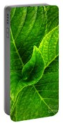 Hydrangea Leaves Portable Battery Charger