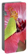 I Love My Hibiscus Portable Battery Charger