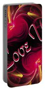 I Love You Card 2 Portable Battery Charger