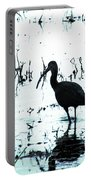 Ibis By Pintail Nature Drive Cameron Prairie Nwr La Portable Battery Charger