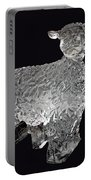 Ice Cold Lamb Carved In Ice Portable Battery Charger