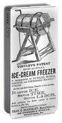 Ice Cream Freezer, 1872 Portable Battery Charger