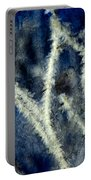 Ice Crystals - Abstract Portable Battery Charger