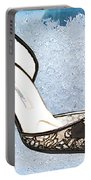 Ice Princess Lace Pumps Portable Battery Charger