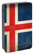 Iceland Flag Portable Battery Charger