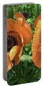 Iceland Poppies Portable Battery Charger