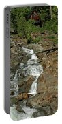 Icy Water Falls Glen Alpine Falls Portable Battery Charger
