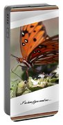 If You Need Me - Butterfly Portable Battery Charger