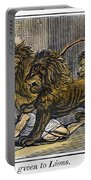 Ignatius Of Antioch (c35-110) Portable Battery Charger