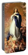Immaculate Conception Of The Escorial Portable Battery Charger