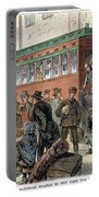 Immigrants, Nyc, 1880 Portable Battery Charger